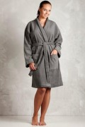 grå badekåbe dame