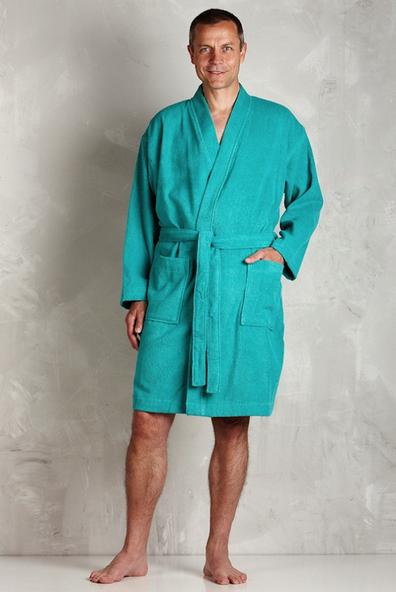 Lige ud Grøn badekåbe til mænd og kvinder - Hurtig levering NT55