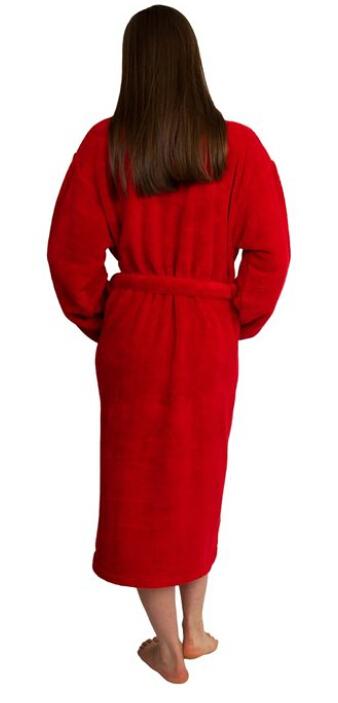 fb6d77405b8 Rød morgenkåbe til fast lav pris - 1-2 dages levering